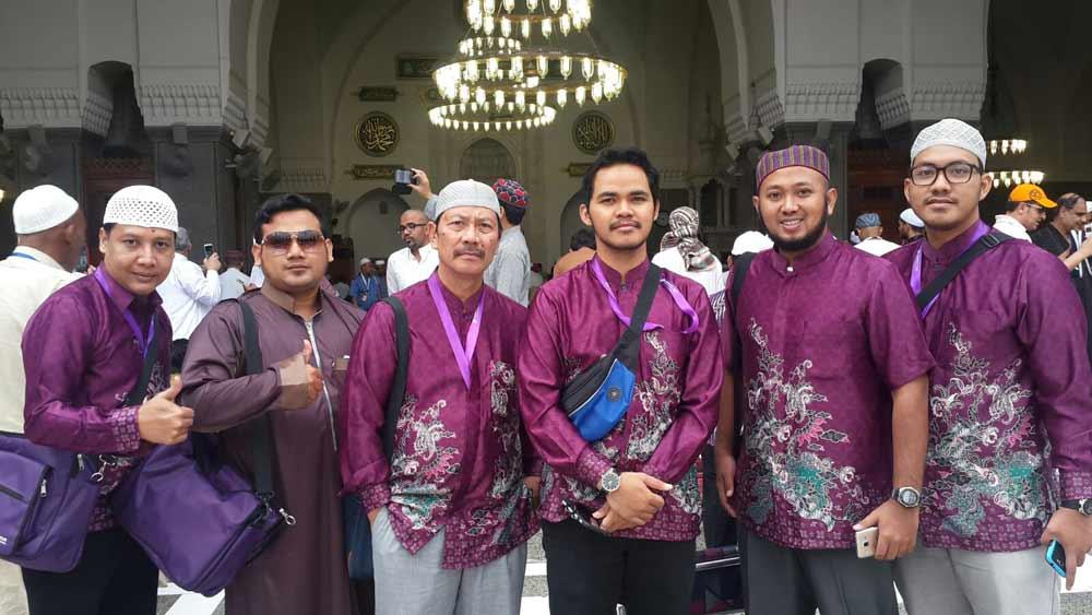 Ziarah ke Masjid Quba, Jamaah Umroh Intanaya Tour Surabaya
