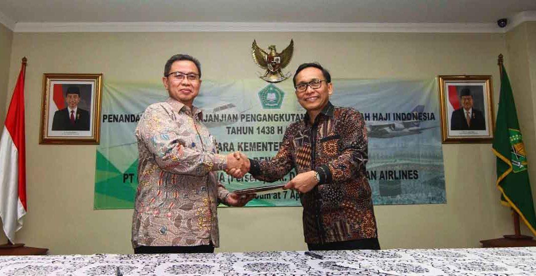 GARUDA INDONESIA SIAPKAN 14 PESAWAT WIDE BODY UNTUK PENERBANGAN MUSIM HAJI 1438H/2017M